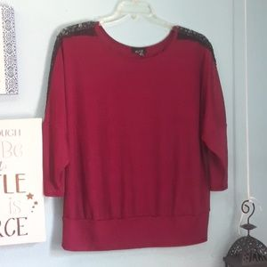 ALYX Red blouse size 2X.